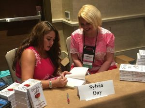 Sylvia Day and Tracy Goodwin Autograph